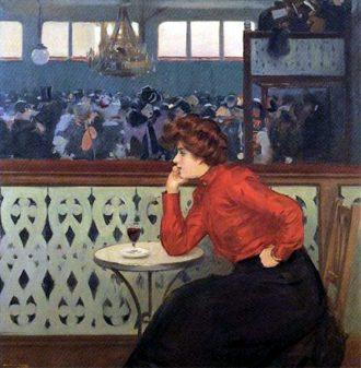 quadro del pittore modernista Ramon Casas